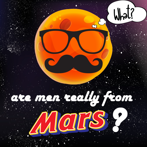 Are Men Really from Mars